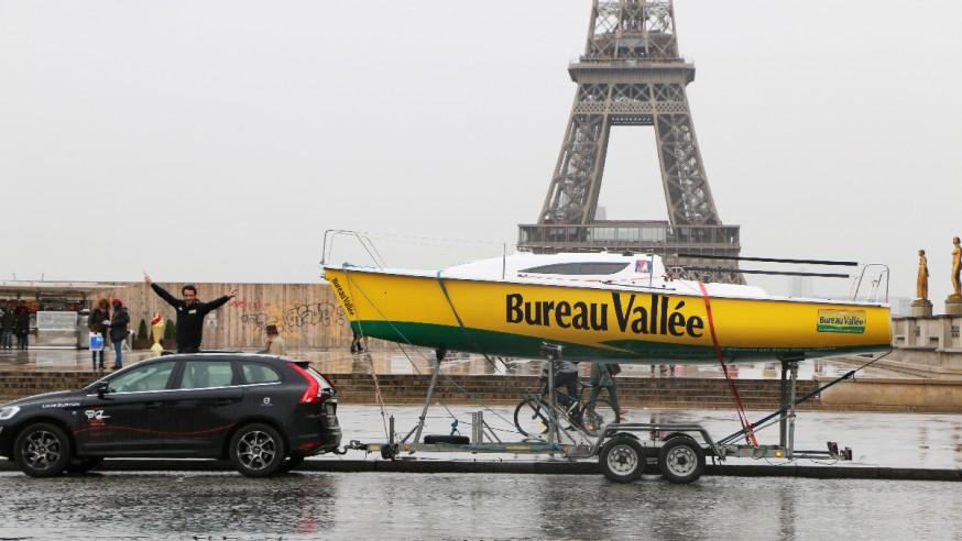Mini BV et Louis à la Tour Eiffel !