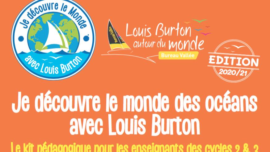 Téléchargez gratuitement votre Kit pédagogique spécial Vendée Globe 2020/2021 : «Je découvre le monde des océans avec Louis Burton»