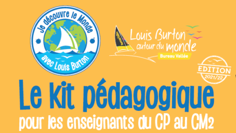 Téléchargez gratuitement votre Kit pédagogique «Je découvre le monde des océans avec Louis Burton»